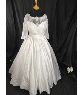 Robe de mariée longues manches